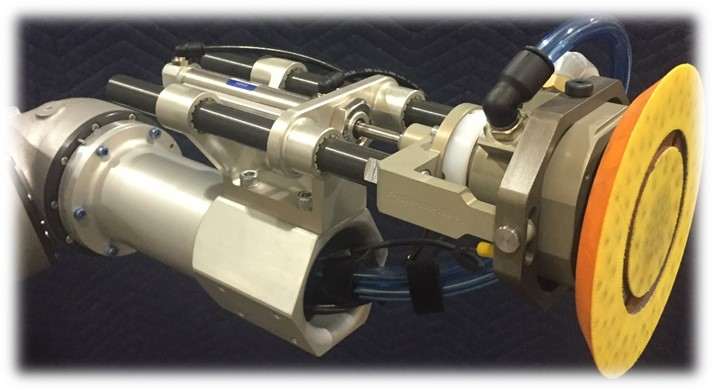 Automated Sanding and Buffing Tool 1