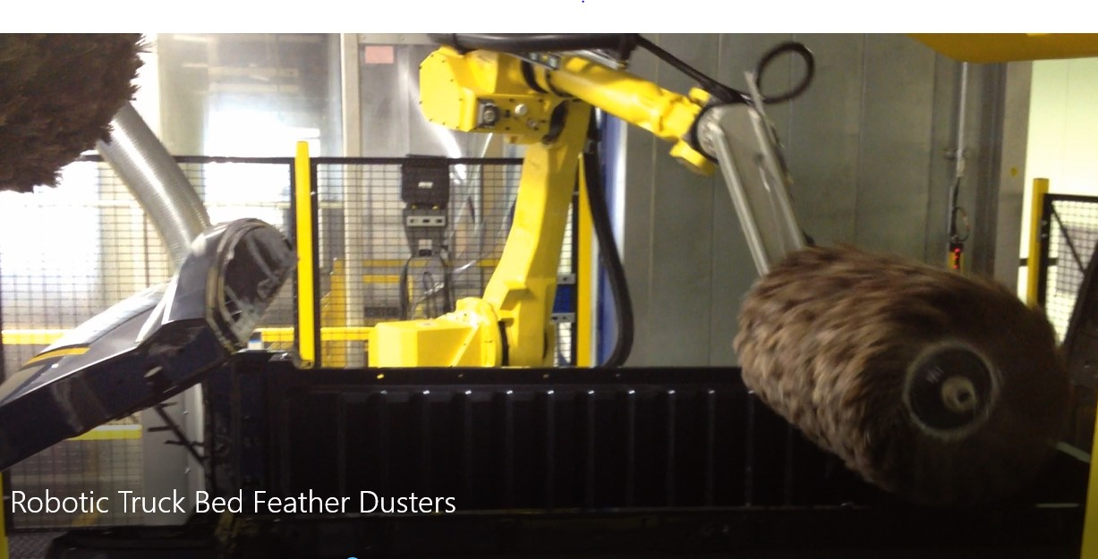 Robotic Feather Duster