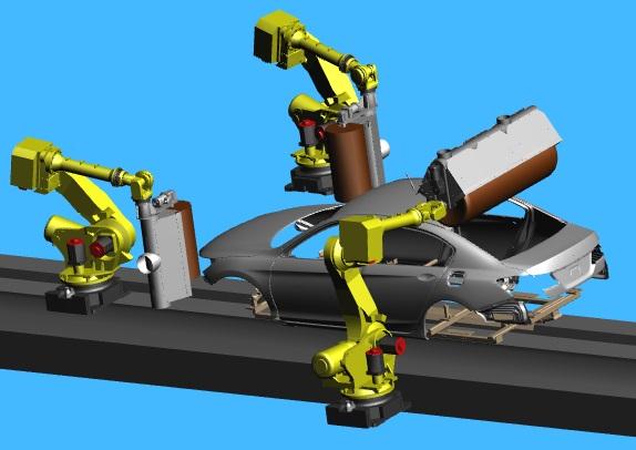3 Roll Robot