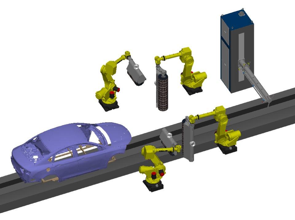 4 Robot Solution