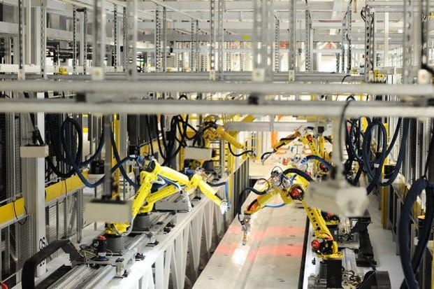 Rail-mounted Robotic Sealing System 2